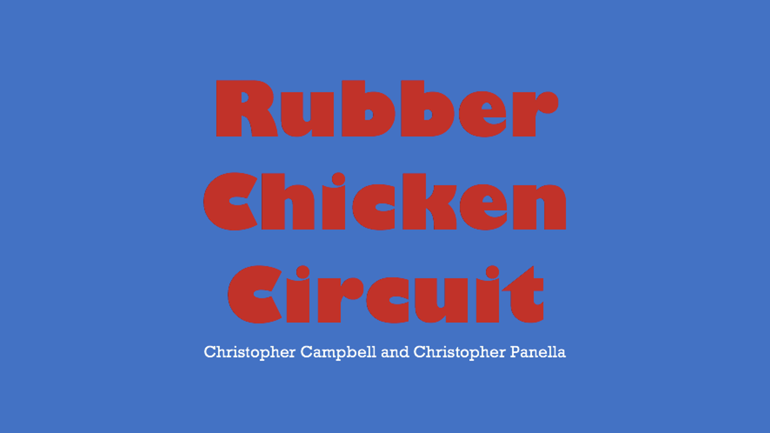 Rubber Chicken Circuit Tufts University Student Film By Creating A