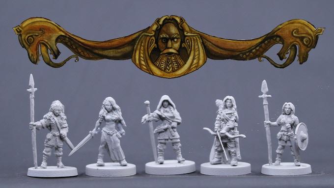 Viking Females Set 3