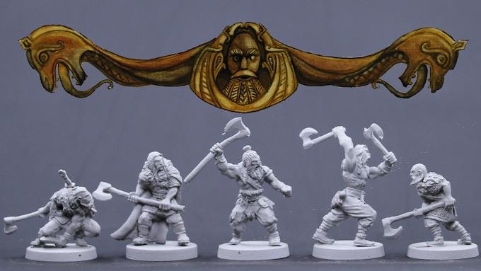 Viking Males Set 1