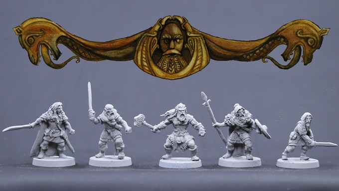 Viking Males Set 2