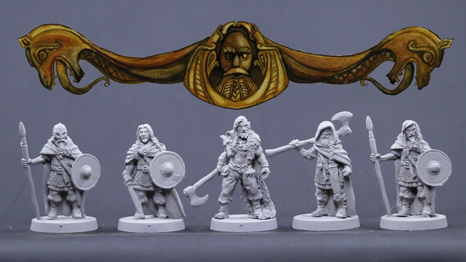 Viking Males Set 3