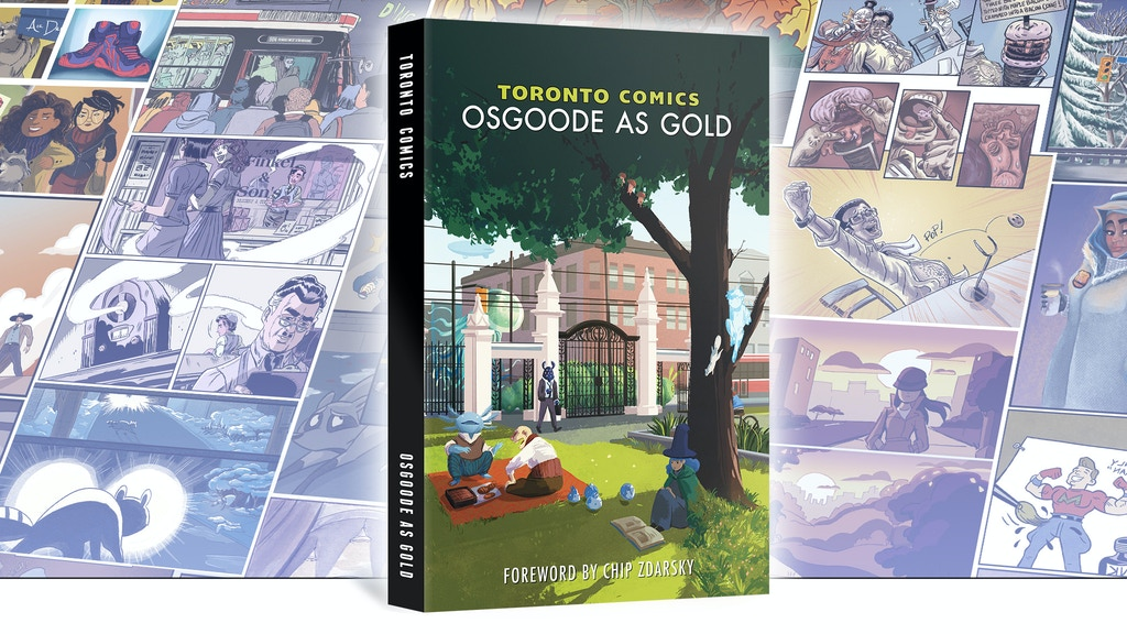 Toronto Comics: Osgoode As Gold project video thumbnail