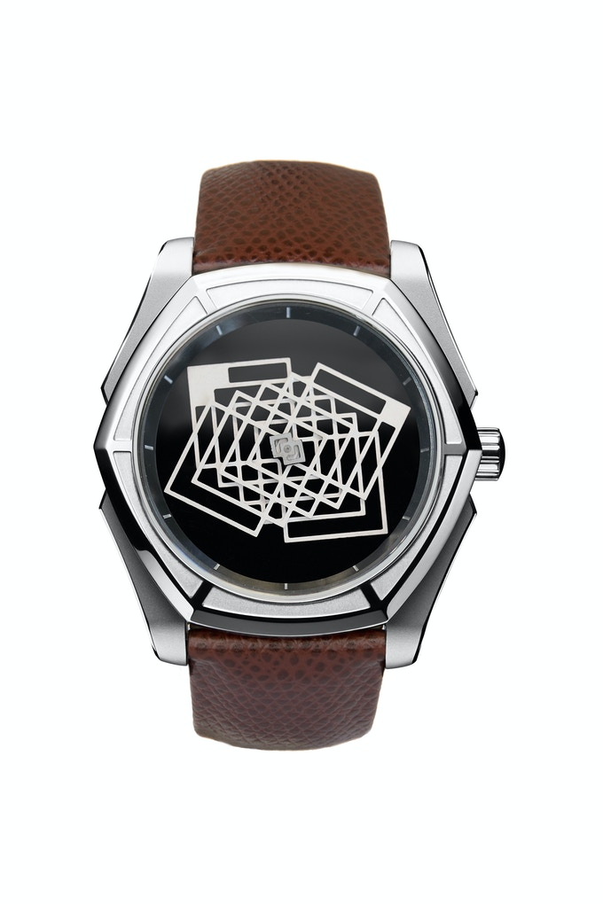 AKYLON - Onyx Dial - 44mm / Limited Edition of 100 pieces  CLICK HERE TO SEE THE VIDEO