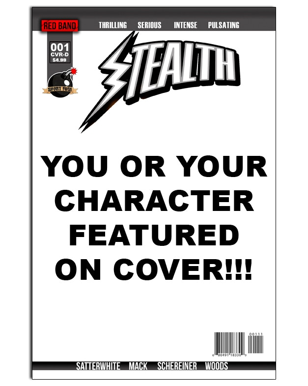 See yourself or your character on the cover!!!