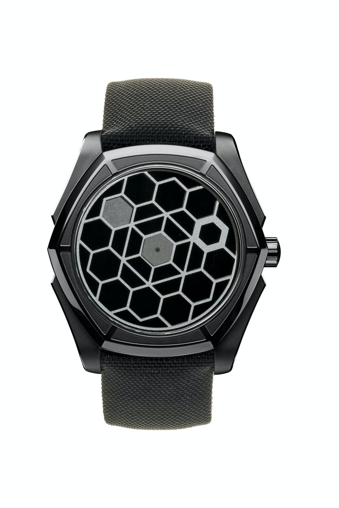 KAGURA Full Black PVD - Onyx Dial - 44mm / Limited Edition of 100 pieces  CLICK HERE TO SEE THE VIDEO