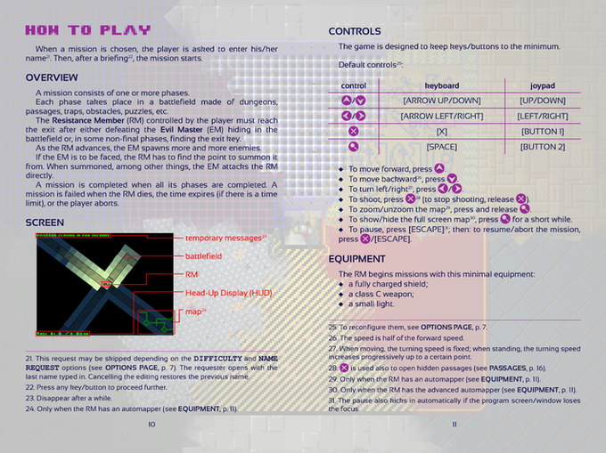 a couple of pages from the booklet
