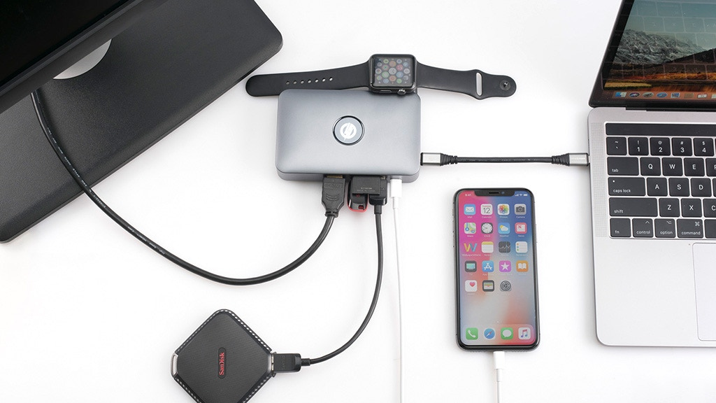 iMate: Plug, Sync, and Charge Your Apple Devices All At Once