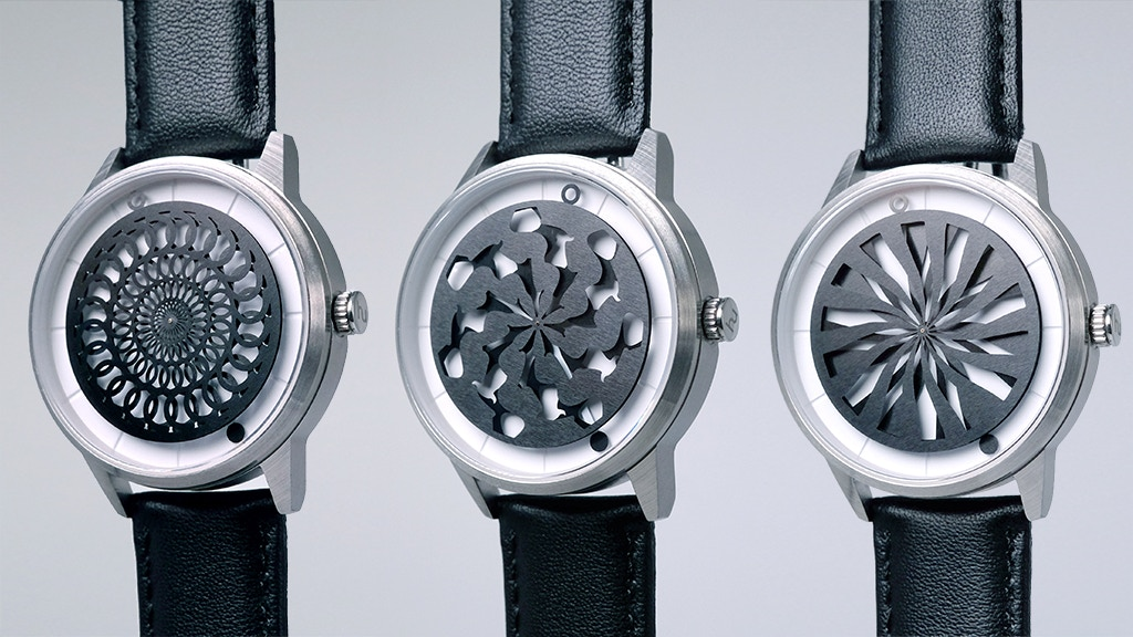 Humism: Automatic Watches that turn Time into Art project video thumbnail