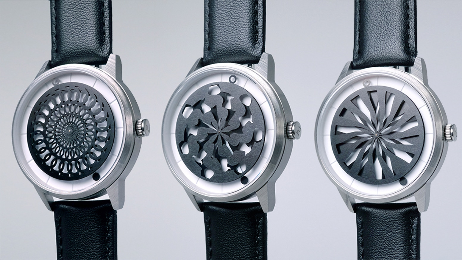 Unique Kinetic Art watches that turn time into mesmerizing art. Powered by your own movement and crafted from premium materials. Featured on Yahoo!, Monochrome and more.