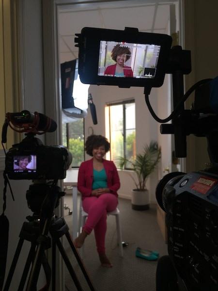 Interviewing Entrepreneur Tash Jeffries in Silicon Valley