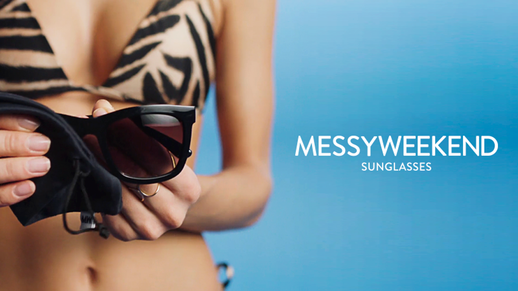 MESSYWEEKEND SUNGLASSES - Anything but boring