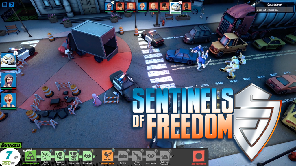 Sentinels of Freedom project video thumbnail