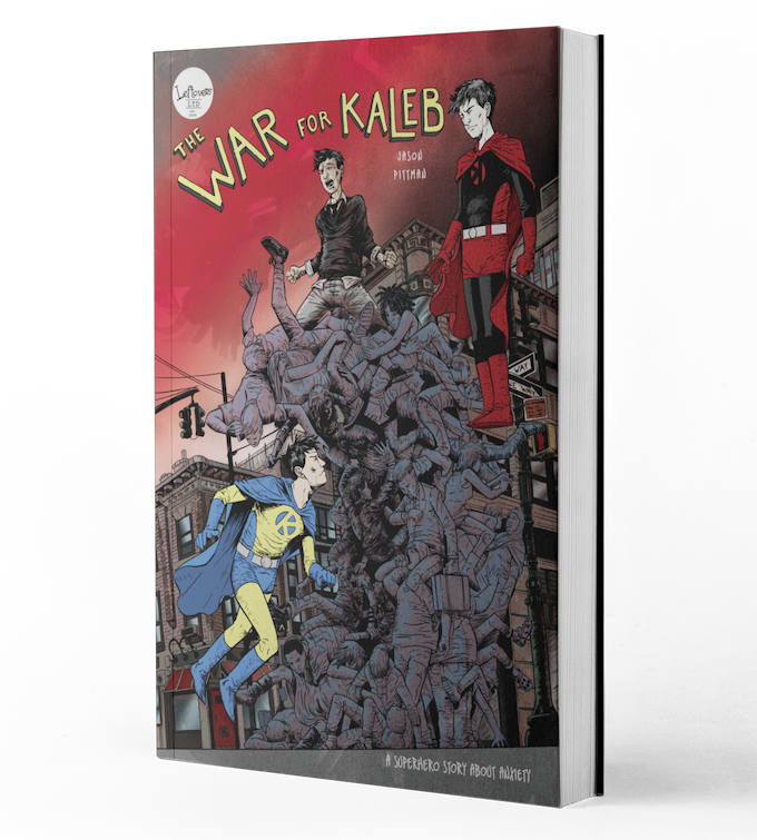 The War for Kaleb Graphic Novel Cover Art