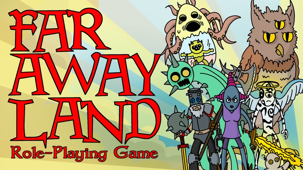 Far Away Land Tabletop Role-Playing Game project video thumbnail