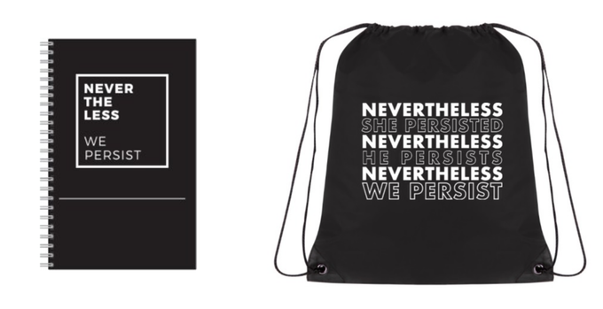 Nevertheless Notebook and Bag Rewards