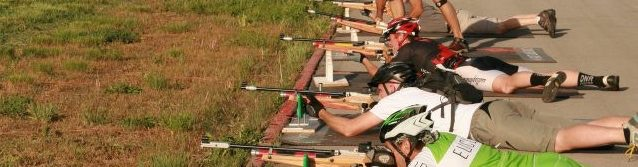 I even raced (& shot air rifles) with a pack...