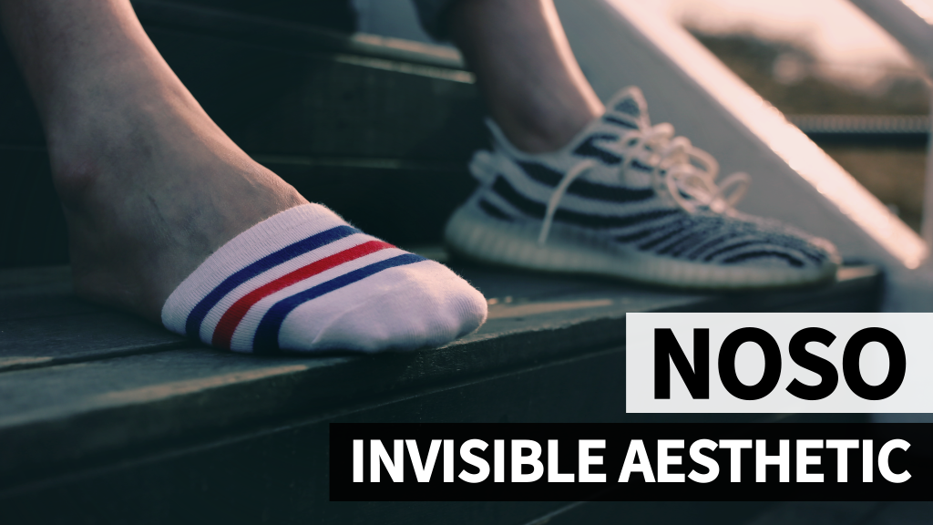 100% No-Show NOSO Socks | Re-think how much sock you need?