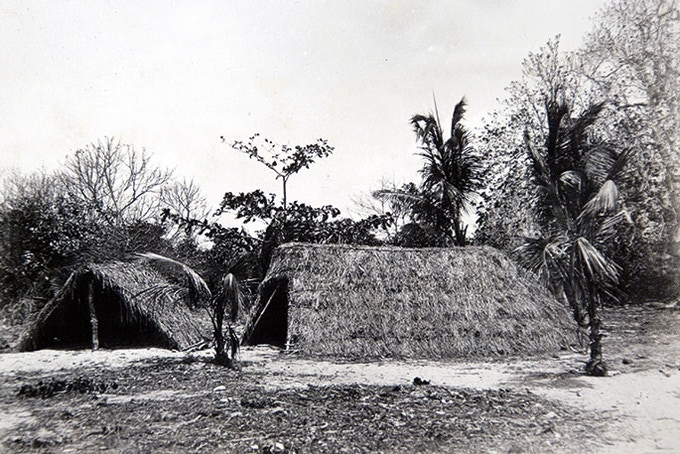 Primitive shelter house