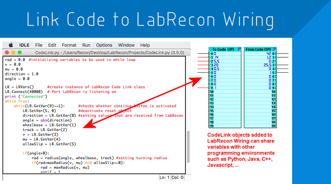 LabRecon: Drag & Drop Software and Hardware IoT Platform by LabRecon