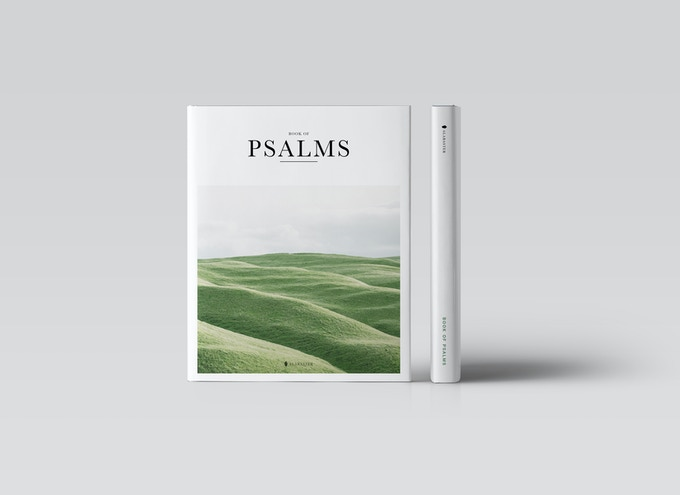 Small Print Run. Psalms Hardcover Edition. Clothbound with foil stamping. Dust jacket.