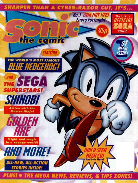 Sonic the Comic #1 - May 29th 1993