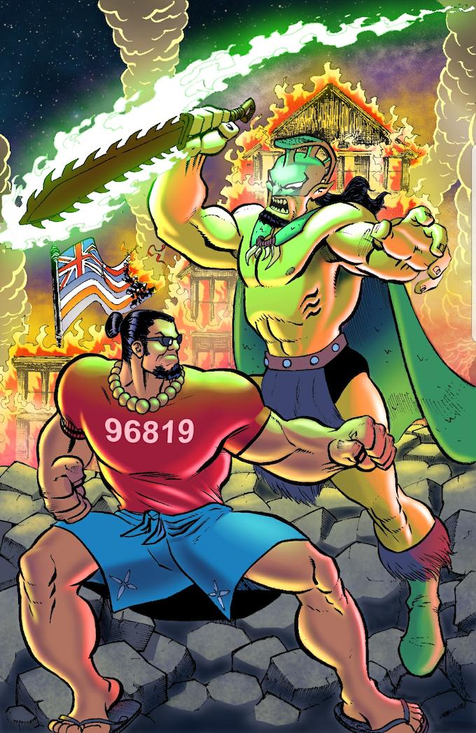 Son of Samoa vs. Son of Ku