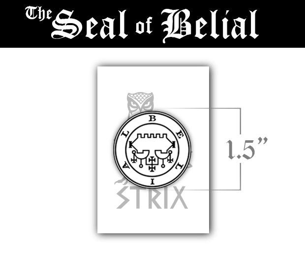 The Seals Of The Lesser Key Demon Enamel Pins By Simon Berman