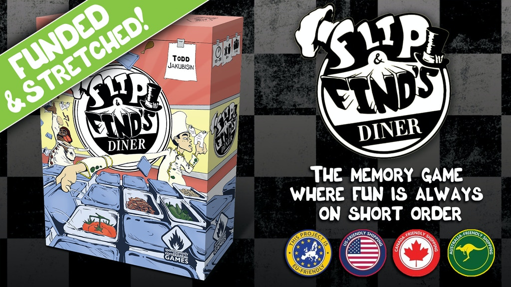 Flip & Find's Diner project video thumbnail