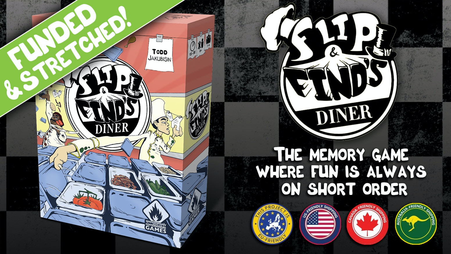Flip & Find run a Diner that is in complete chaos. In this set-collection memory game, find the ingredients to fill orders & make tips!