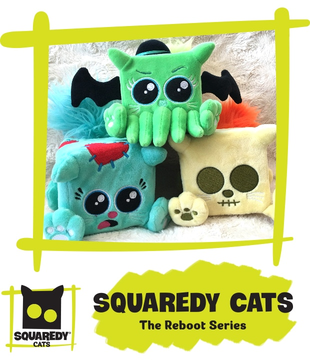 Choose all three to snuggle each of the the new characters.