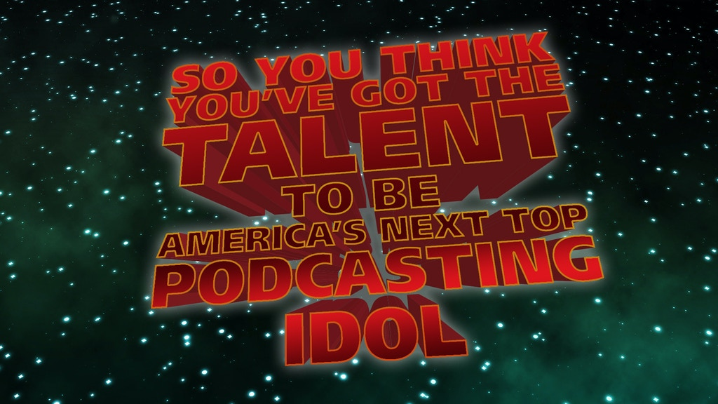 America's Next Top Podcasting Idol - Podcast Competition project video thumbnail