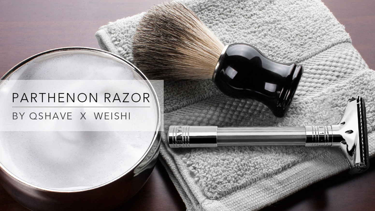 Revolutionary New Kind of Razor - a close, smooth and comfortable shave for every skin and beard condition.