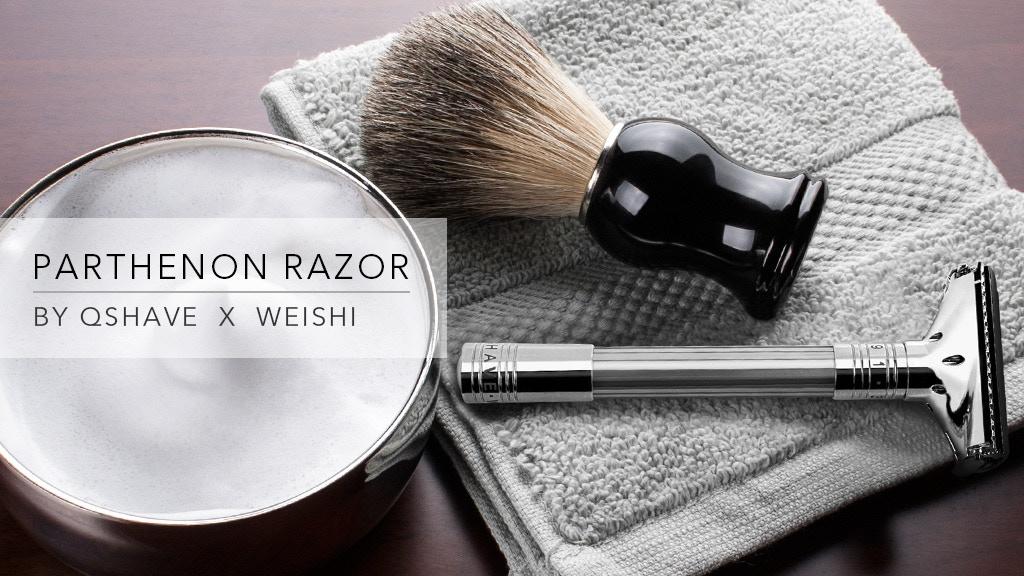Parthenon Razor - adjustable for superb shaving comfort project video thumbnail