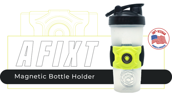 Afixt The Ultimate Magnetic Bottle Holder By Shaun