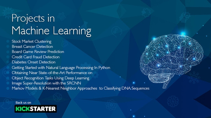Learn Real World Machine Learning By Building Projects by