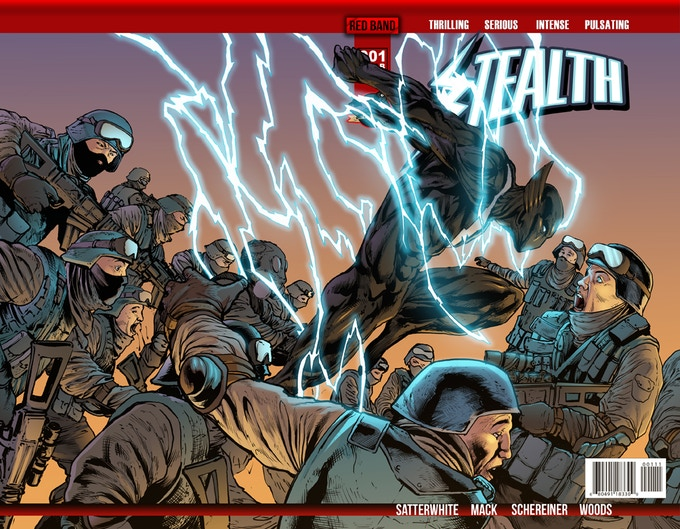 Stealth #1 Variant Cover B by Sean Hill