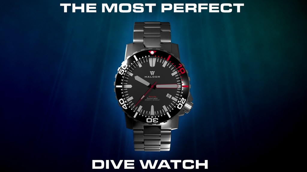 Haldor Armis - The most perfect dive watch project video thumbnail