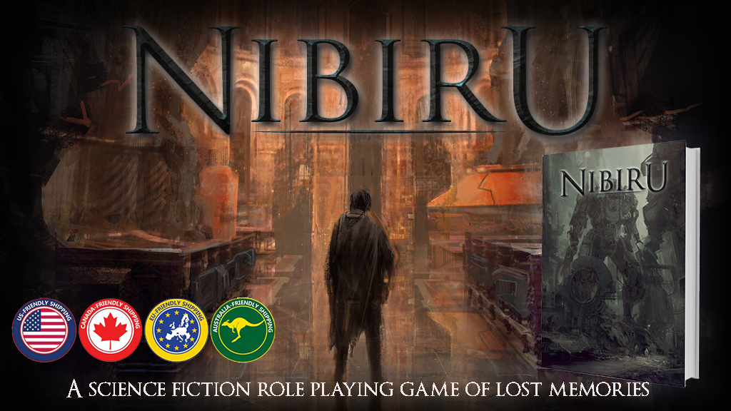 Nibiru, a Science Fiction RPG of Lost Memories project video thumbnail