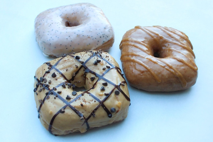 Delicious donuts made with, you guessed it, FabaButter magic (image courtesy of @peacefulprovisions)
