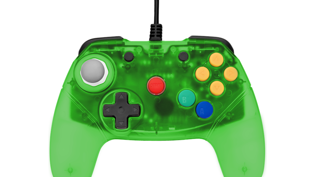 Retro Fighters Next Gen N64 Controller Transparent Colors project video thumbnail