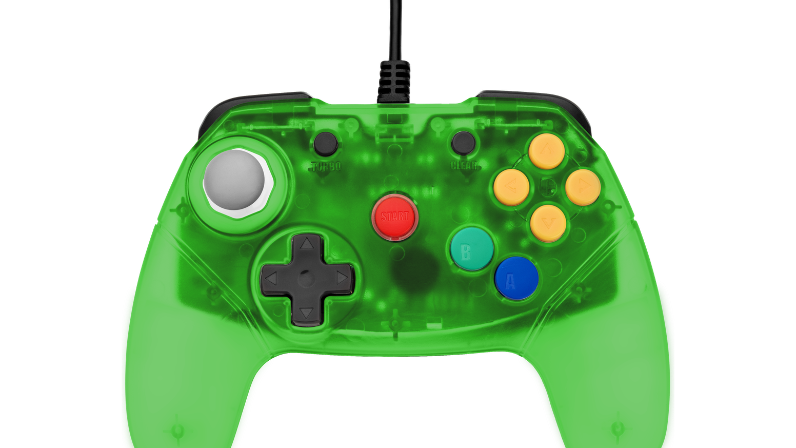 Retro Fighters Next Gen N64 Controller Transparent Colors by