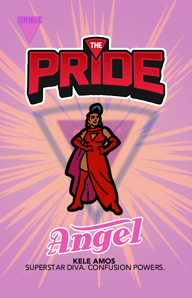 The new Angel pin designed by Gavin Mitchell!