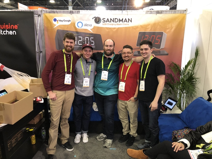 The Doppler team at CES 2018