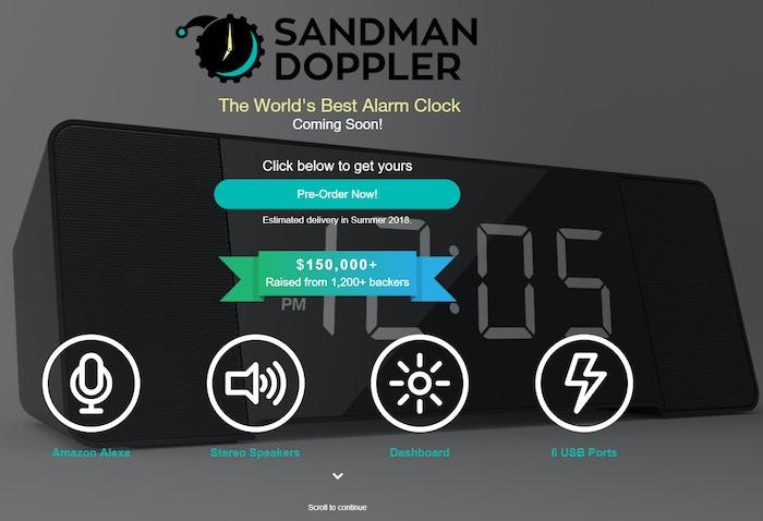 Our new Sandman Doppler website