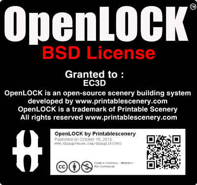 EC3D - OpenLOCK BSD License