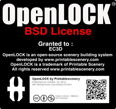 EC3D - OpenLOCK BSD License