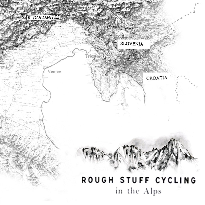 Rough Stuff Cycling in the Alps guide book by Max Leonard ...