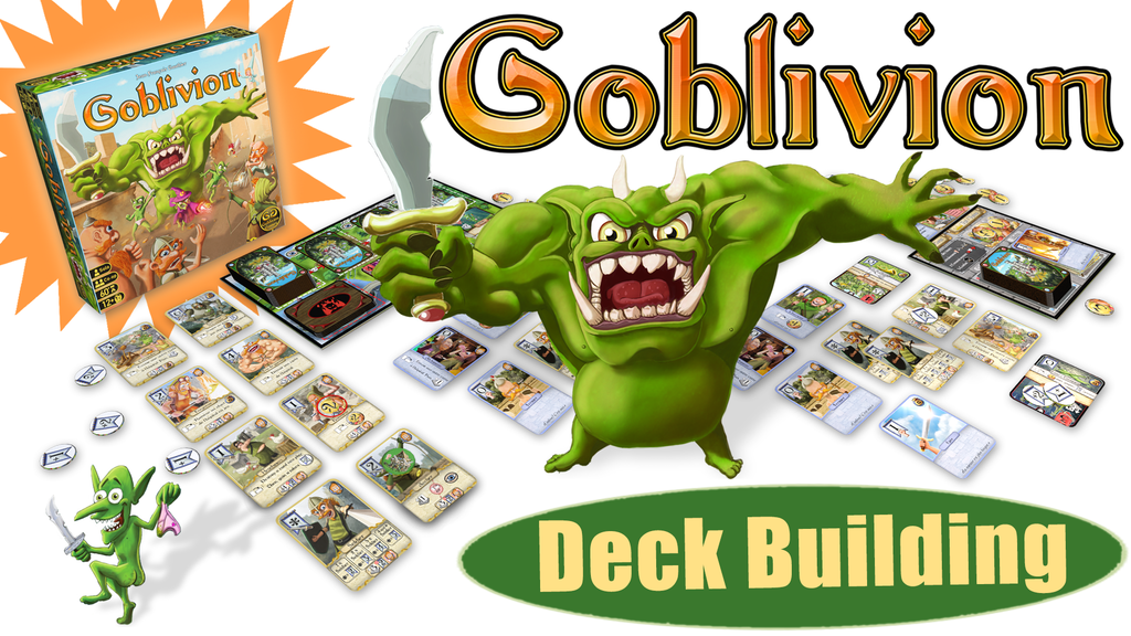 Goblivion - A Solo/Co-Op Castle Siege Card Game project video thumbnail