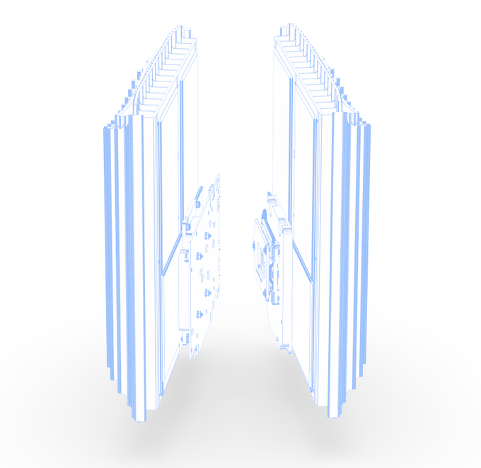 Inferno CPU (right) & GPU (left) cooling
