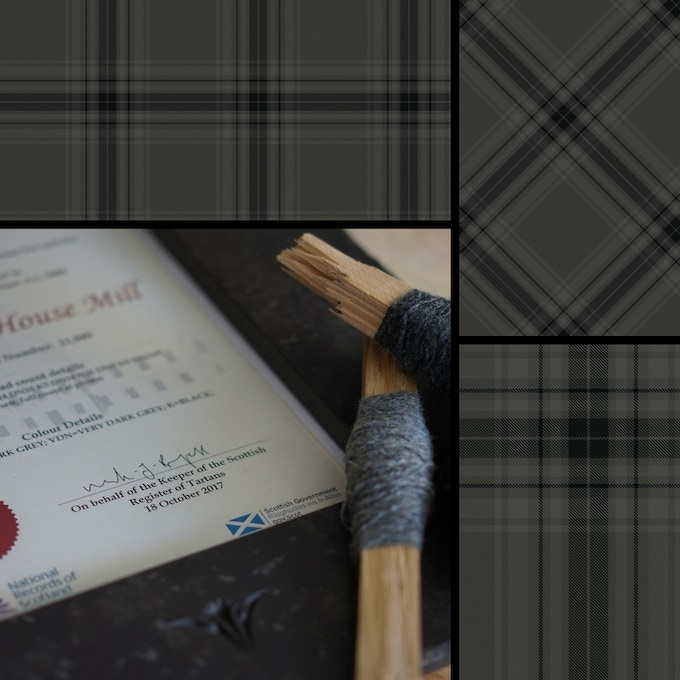 DESIGN IMAGE - BLACK HOUSE MILL TARTAN